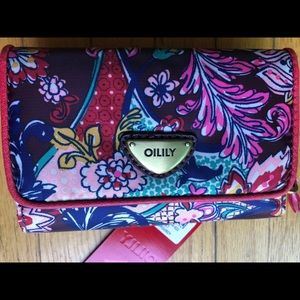 NWT Oilily trifold wallet
